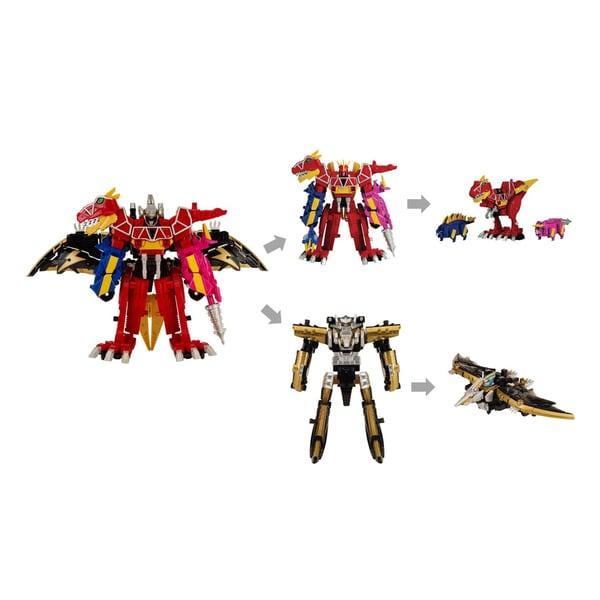 Bandai Power Rangers Deluxe Megazord 2-pack 16760744