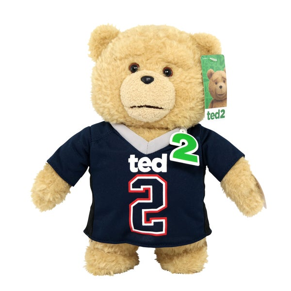 Commonwealth Toys Ted in Jersey Outfit 11-inch Bear