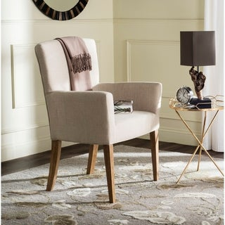 Safavieh Dale Hemp Linen Arm Chair
