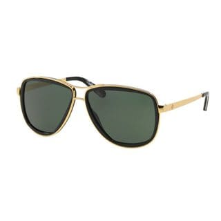 Tory Burch Women's TY6040 Gold Metal Pilot Sunglasses