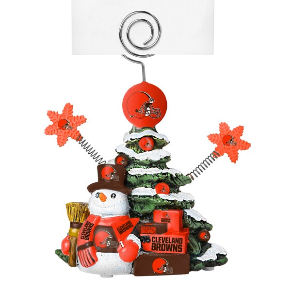 Cleveland Browns Cast Porcelain Tree Photo Holder