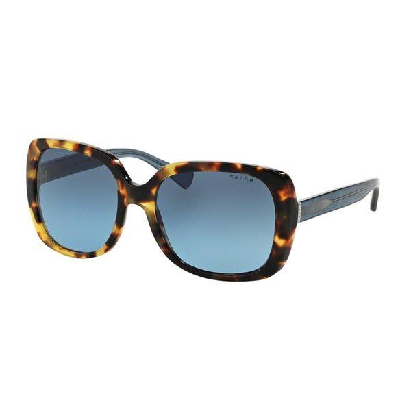 Ralph by Ralph Lauren Women's RA5198 Tortoise Plastic Square Sunglasses