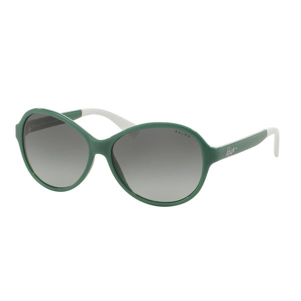 Ralph by Ralph Lauren Women's RA5192 Turquoise Plastic Oval Sunglasses
