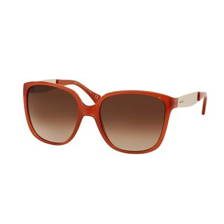 Ralph by Ralph Lauren Women's RA5173 Orange Plastic Square Sunglasses
