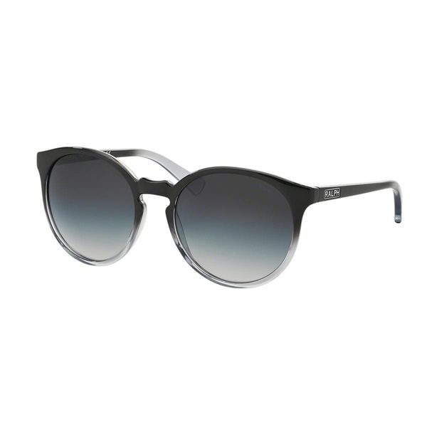 Ralph by Ralph Lauren Women's RA5162 Black Plastic Round Sunglasses