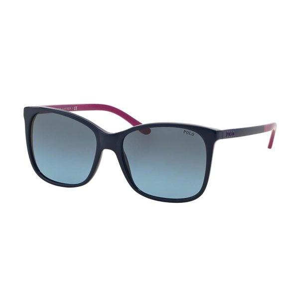 Polo by Ralph Lauren Women's PH4094 Blue Plastic Butterfly Sunglasses