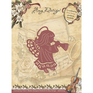 Find It Trading Amy Design Vintage Christmas Die-Angel