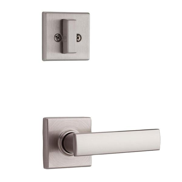Kwikset Vedani Single Cylinder Satin Nickel Interior Pack Lever