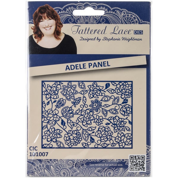 Tattered Lace Metal Die-Adele Panel