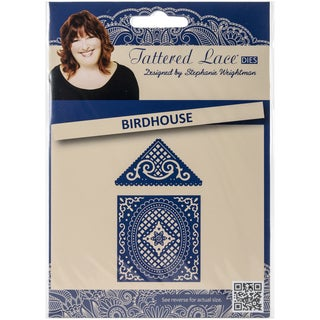 Tattered Lace Metal Die-Birdhouse