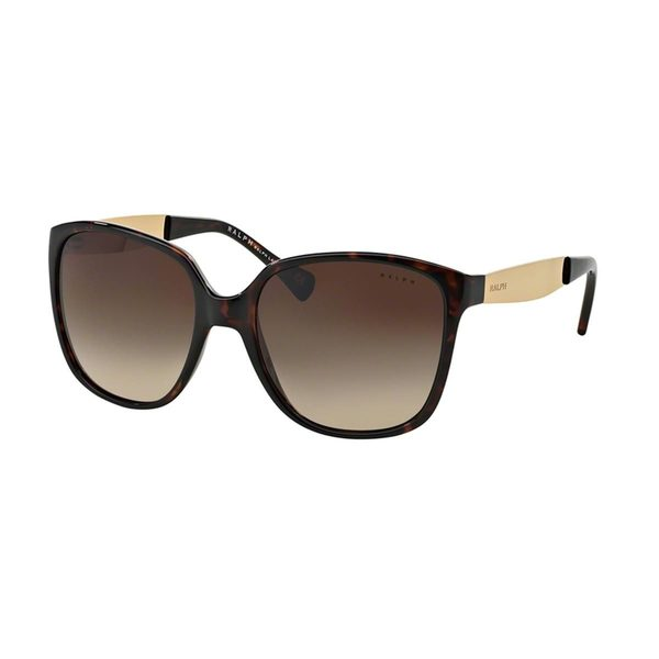 Ralph by Ralph Lauren Women's RA5173 Tortoise Plastic Square Sunglasses