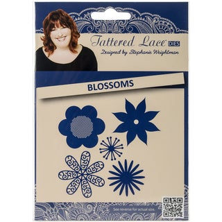 Tattered Lace Metal Die-Blossoms