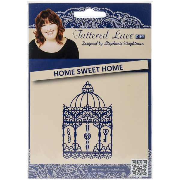 Tattered Lace Metal Die-Home Sweet Home