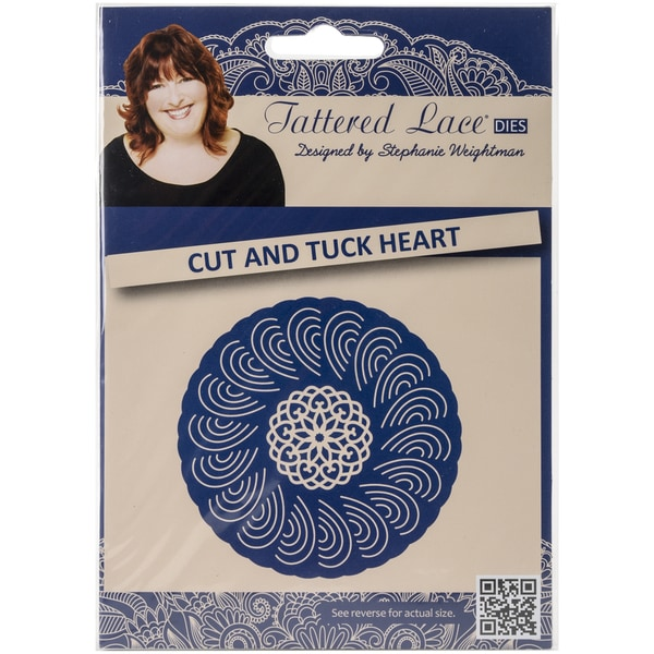 Tattered Lace Metal Die-Cut & Tuck Heart