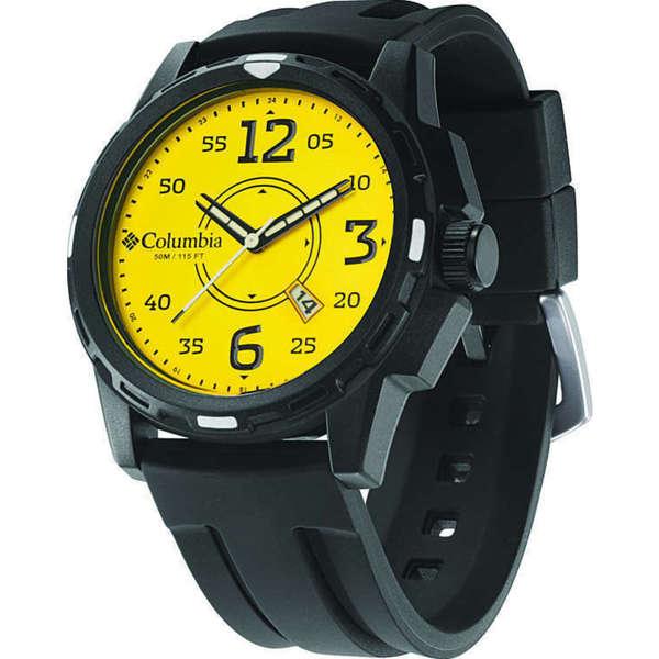 Columbia Men's CA800901 Descender Yellow Watch