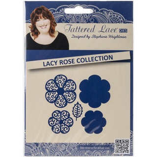 Tattered Lace Metal Die-Lacey Rose Collection