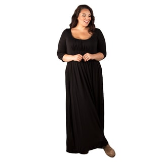 Sealed with a Kiss Women's Plus Size 'Lois' Maxi Dress
