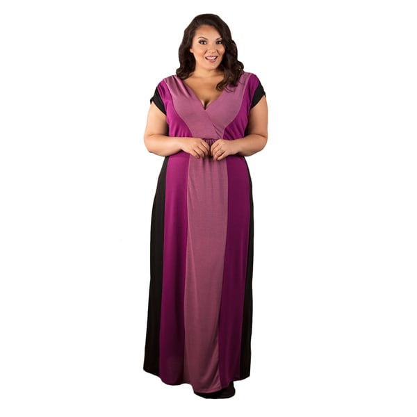 Sealed with a Kiss Women's Plus Size 'Jackie' Knit Maxi Dress