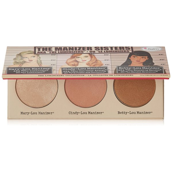 TheBalm theManizer Sisters Luminizers Palette