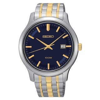 Seiko Men's SUR181 Stainless Steel 100M Water Resistant Watch