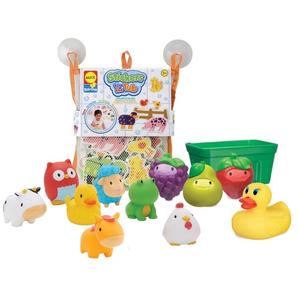 Summer Infant Tub Time Farm Friends Bath Toy Set