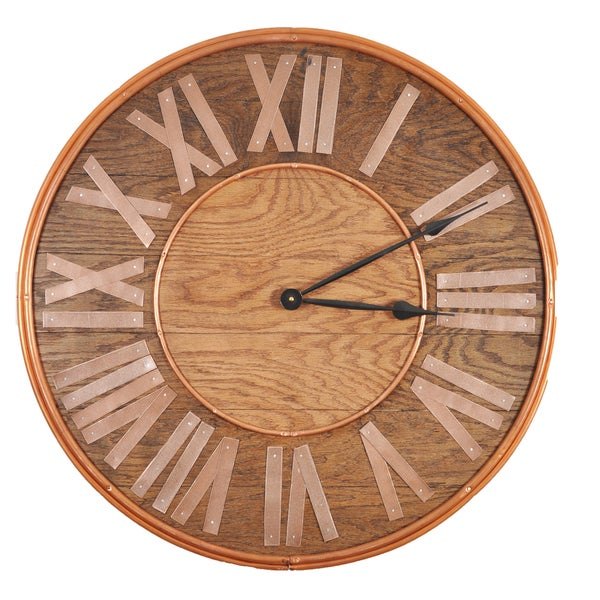 Maritime Legend 25 inch by 25 inch Oversized Wall Clock