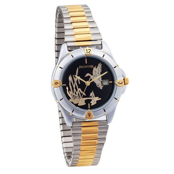 Mens Black Hills Gold Duck Watch