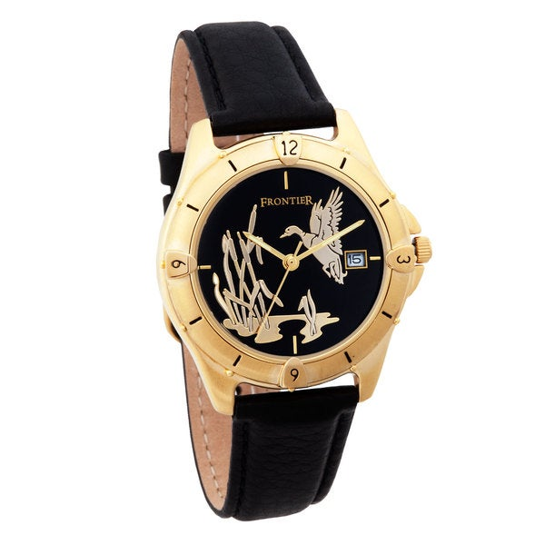 Mens Black Hills Gold Duck Watch