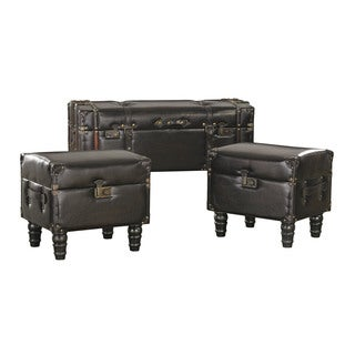 Sterling Travelers Storage Trunks (Set of 3)