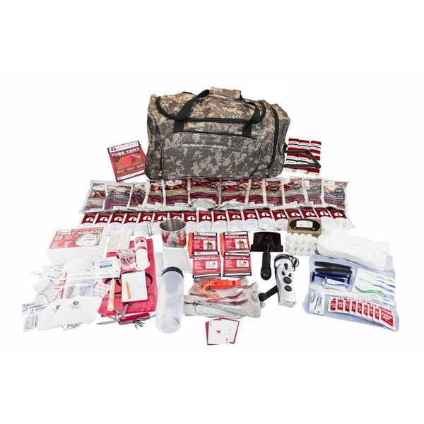 Guardian Deluxe Food Storage Survival Kit in Camo