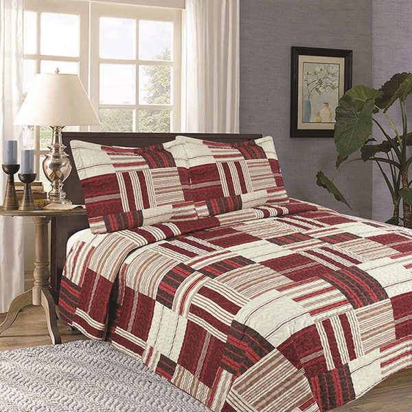 Nolan Collection 3-piece Quilt Set