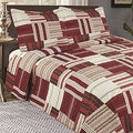Home Fashion Designs Nolan Collection 3-Piece Printed Quilt Set with Shams