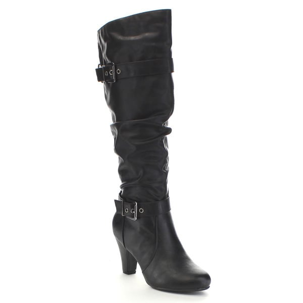Delicious Ajax Women's Slouchy Shaft Boots