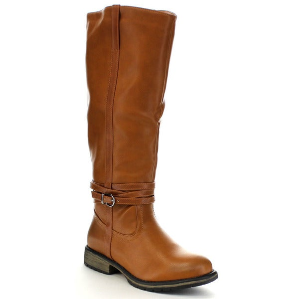 Anna Cathy-6 Women's Riding Knee High Boot