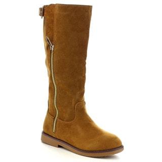 Bella Marie Marcy-37 Women's Side Zipper Knee High Boots