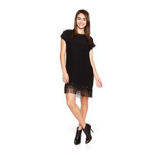 Cynthia Vincent Women's Fringe Shift Dress