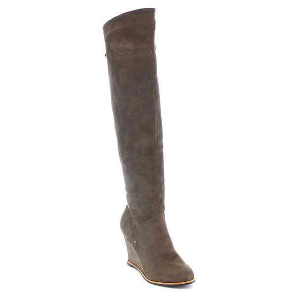 Shake Collection Jess Women's Snug Fit Over Knee High Boots