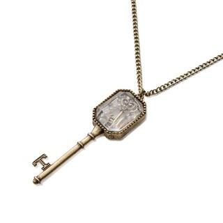 Locked Love Skeleton Key Necklace