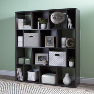 South Shore Reveal 16-Cube Shelving Unit