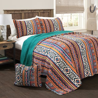 Lush Decor Bettina 4-piece Quilt Set with Bonus Tote