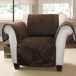 Lush Decor Animal Plush Armchair Furniture Protector