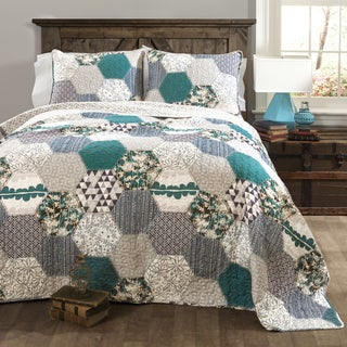 Lush Decor Briley 3-piece Quilt Set
