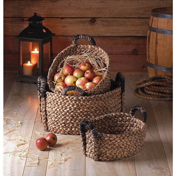 Cosmos Braided Storage Nesting Baskets