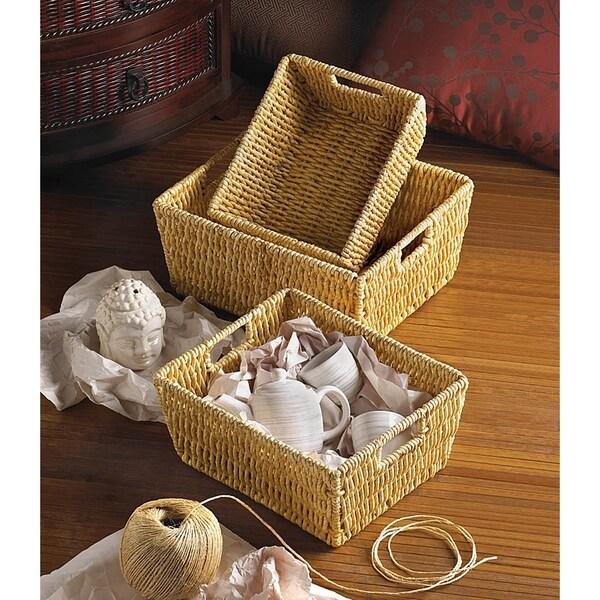 Rural Woven Nesting Baskets