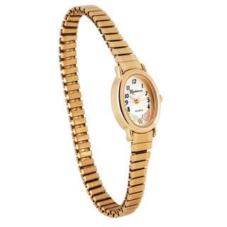 12k Black Hills Gold Women's Gold-tone Adjustable Watch