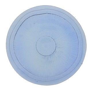 French Home 13-inch Sapphire Blue Birch Charger (Set of 4)