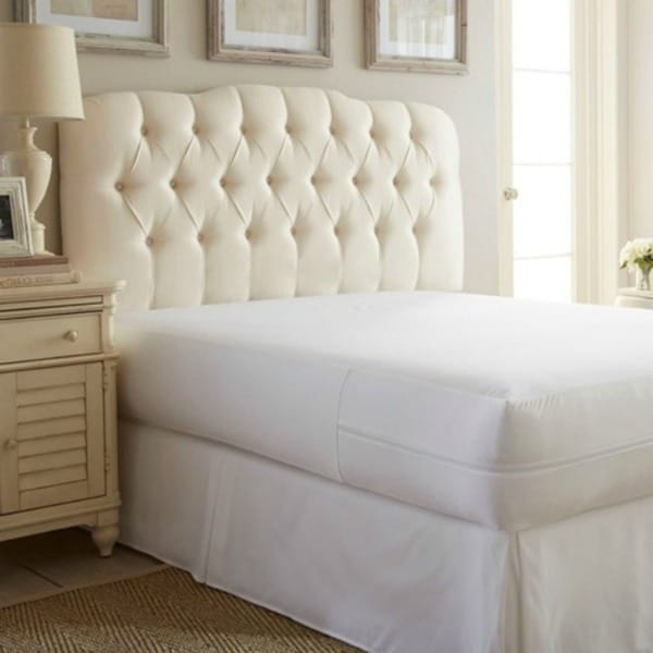 Box Spring Waterproof and Bed Bug-Proof Microfiber Mattress Encasement
