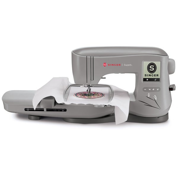 Singer Em200 Superb Embroidery Machine With Lcd Touch