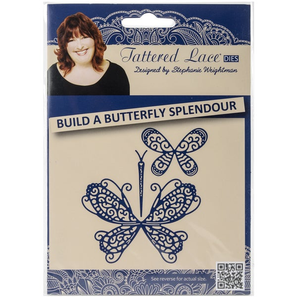 Tattered Lace Metal Die-Build A Butterfly Splendour