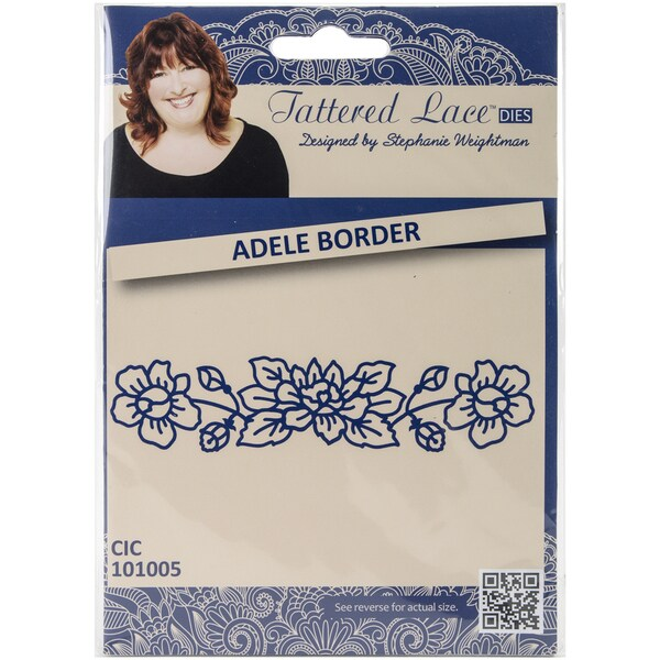 Tattered Lace Metal Die-Adele Border